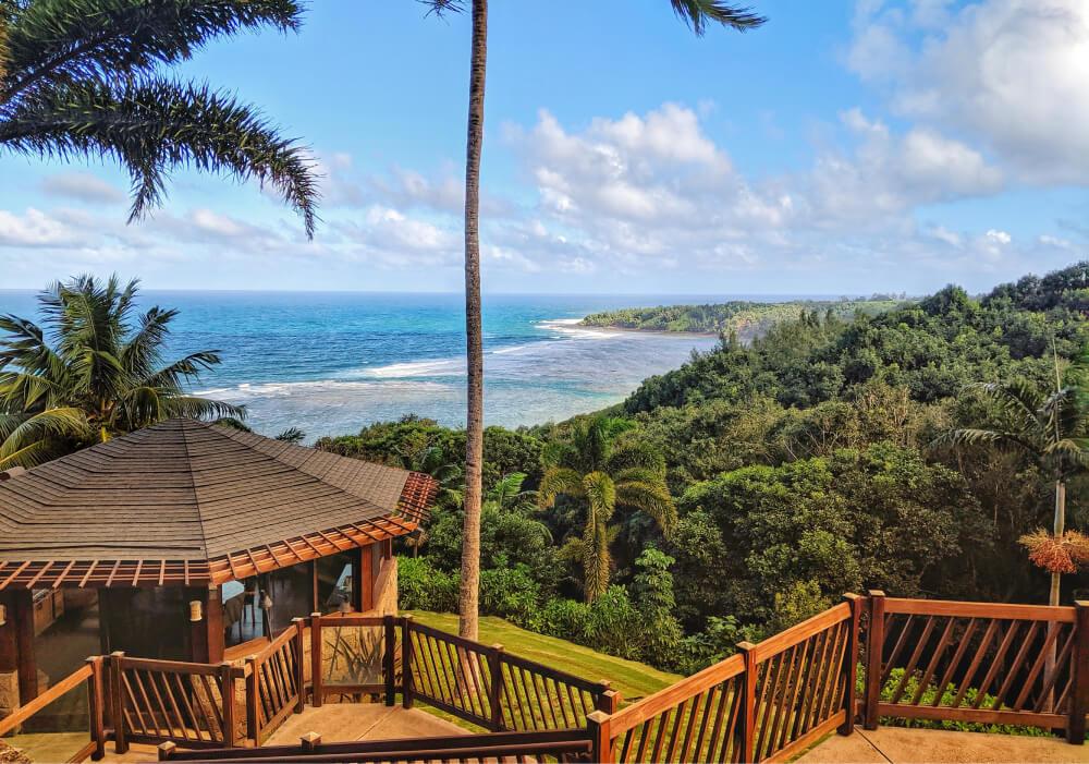 Photo of beach walkway in Hawaii
