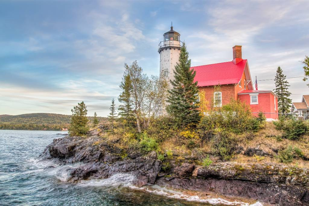 lighthouse in Northern Michigan.