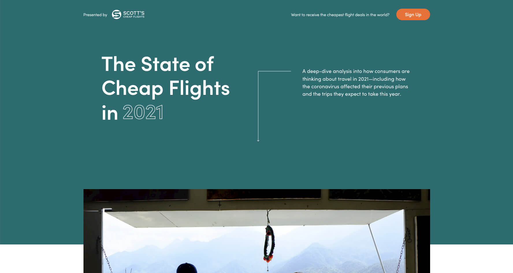 state of cheap flights 2021