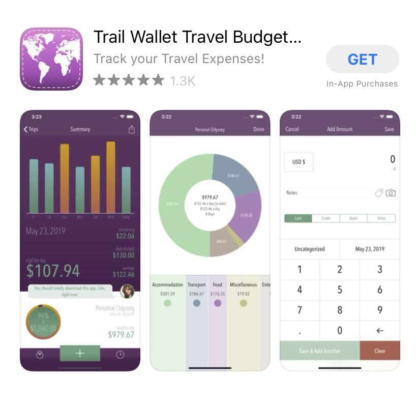 trail wallet app.