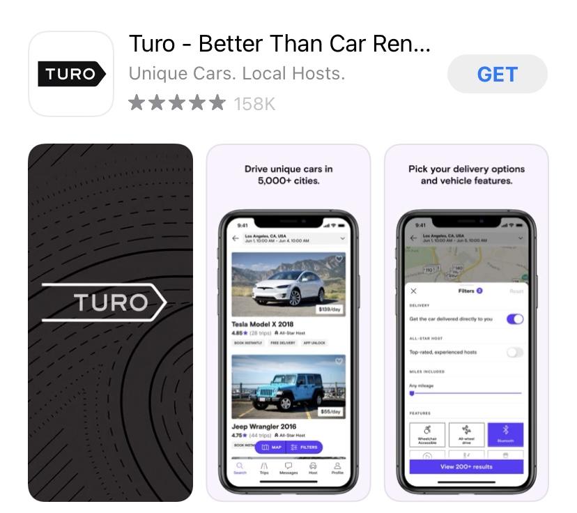 Turo app.