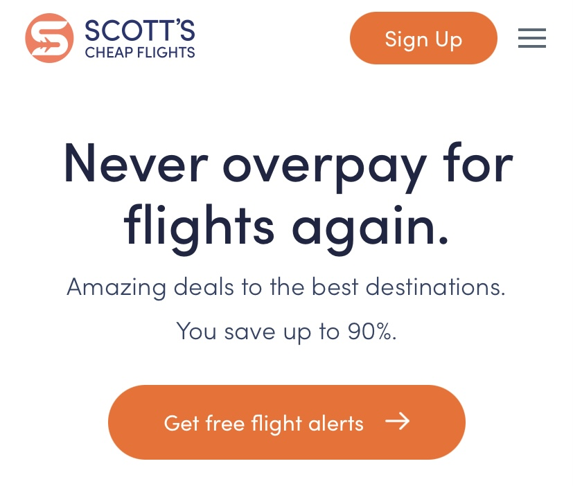 Scott's Cheap Flights can save you hundreds on airfare