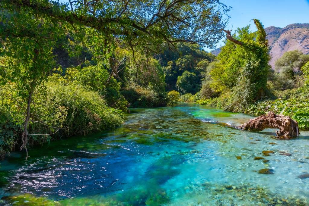Albania's Blue Eye.