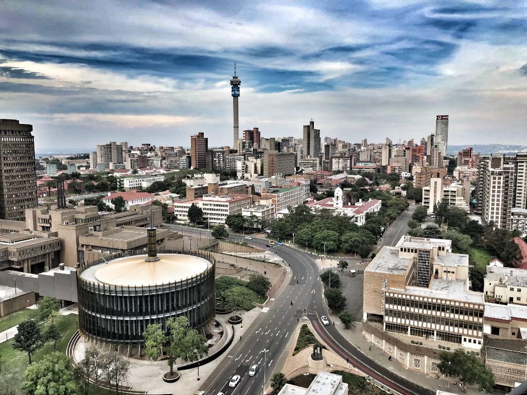 city of Johannesburg, South Africa.