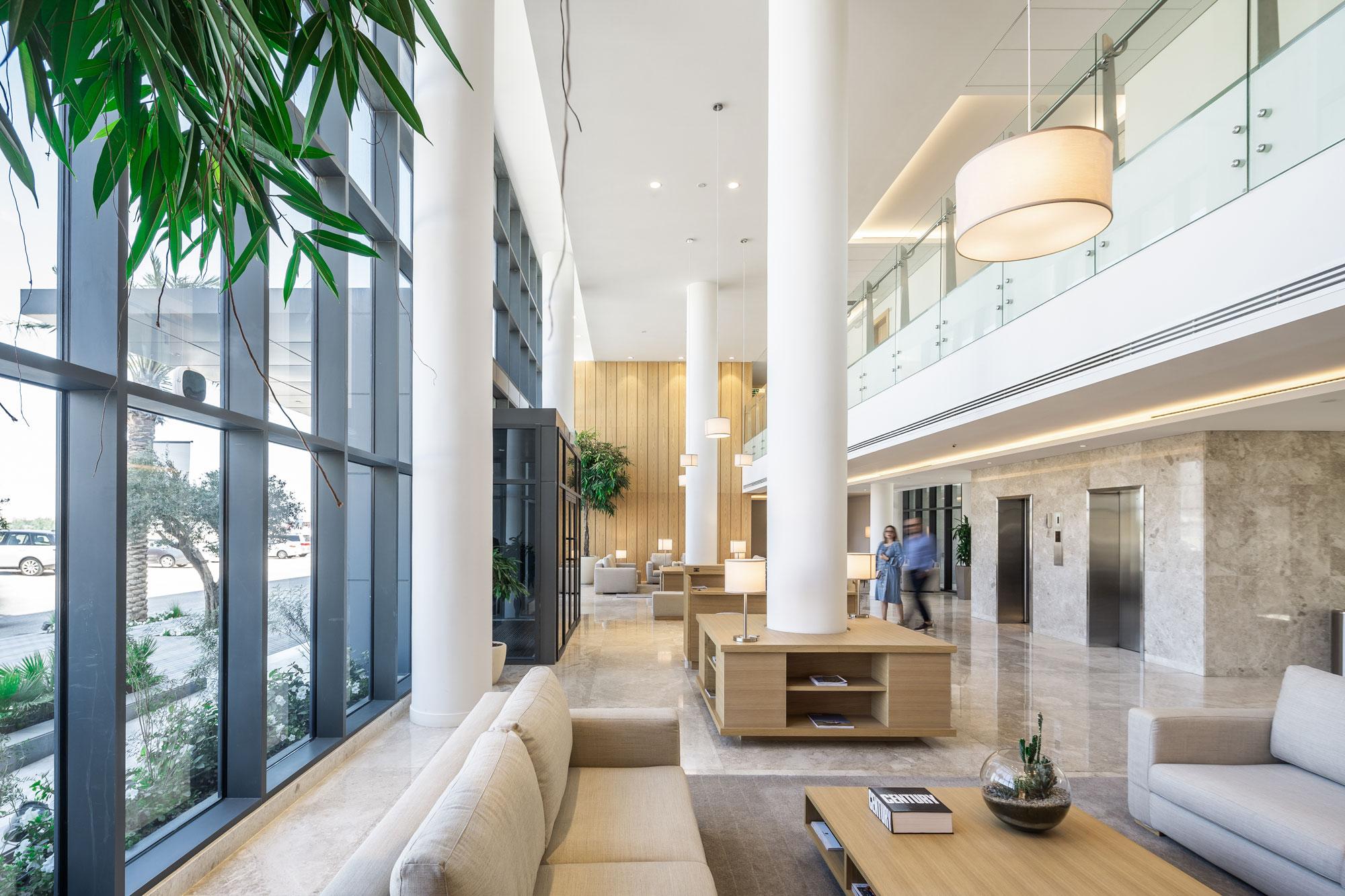 Delta Hotel apartments lobby image
