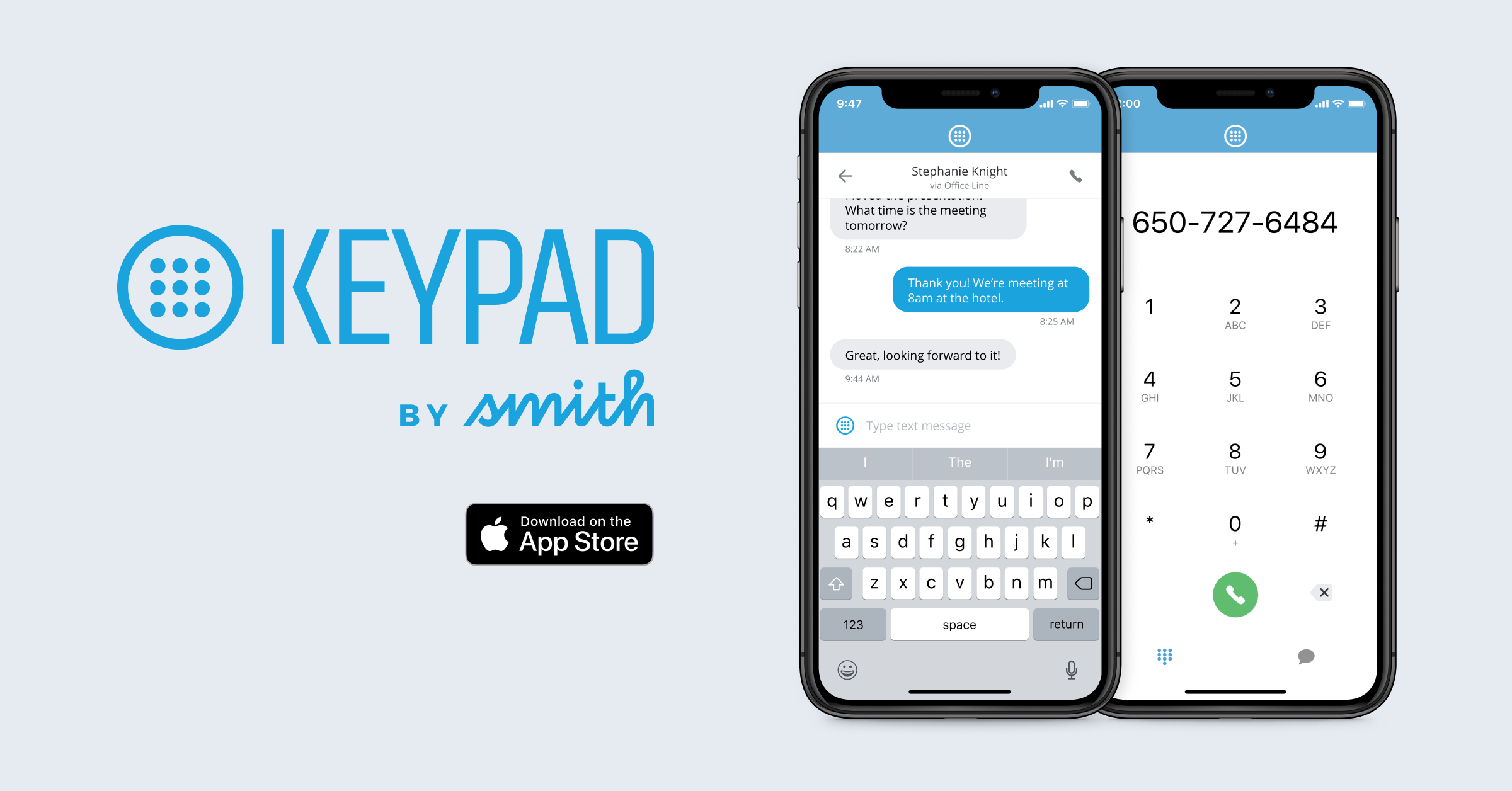 The Keypad iPhone App is Here!