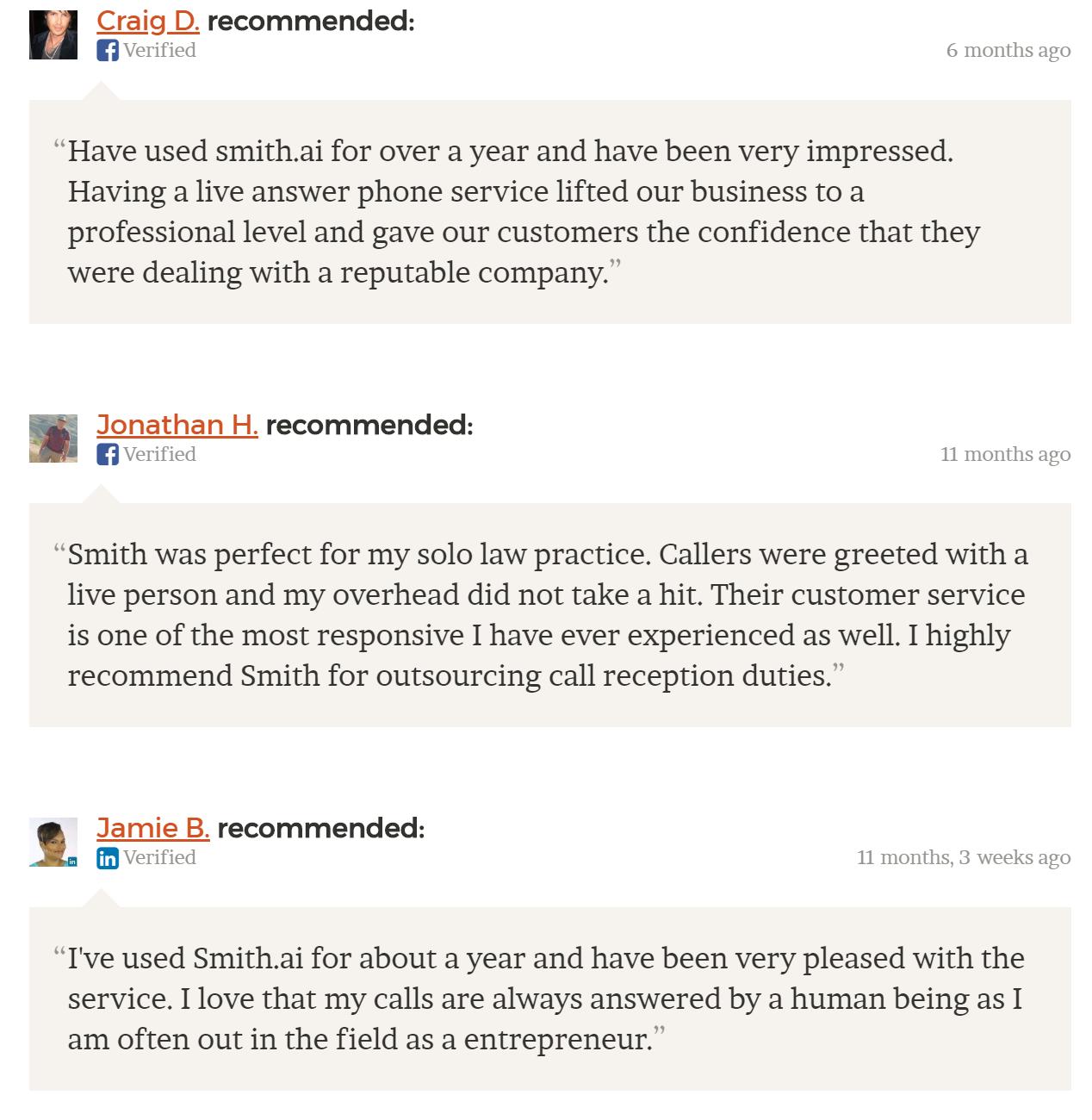 Smith ai | Blog | Alternatives to Ruby Receptionists