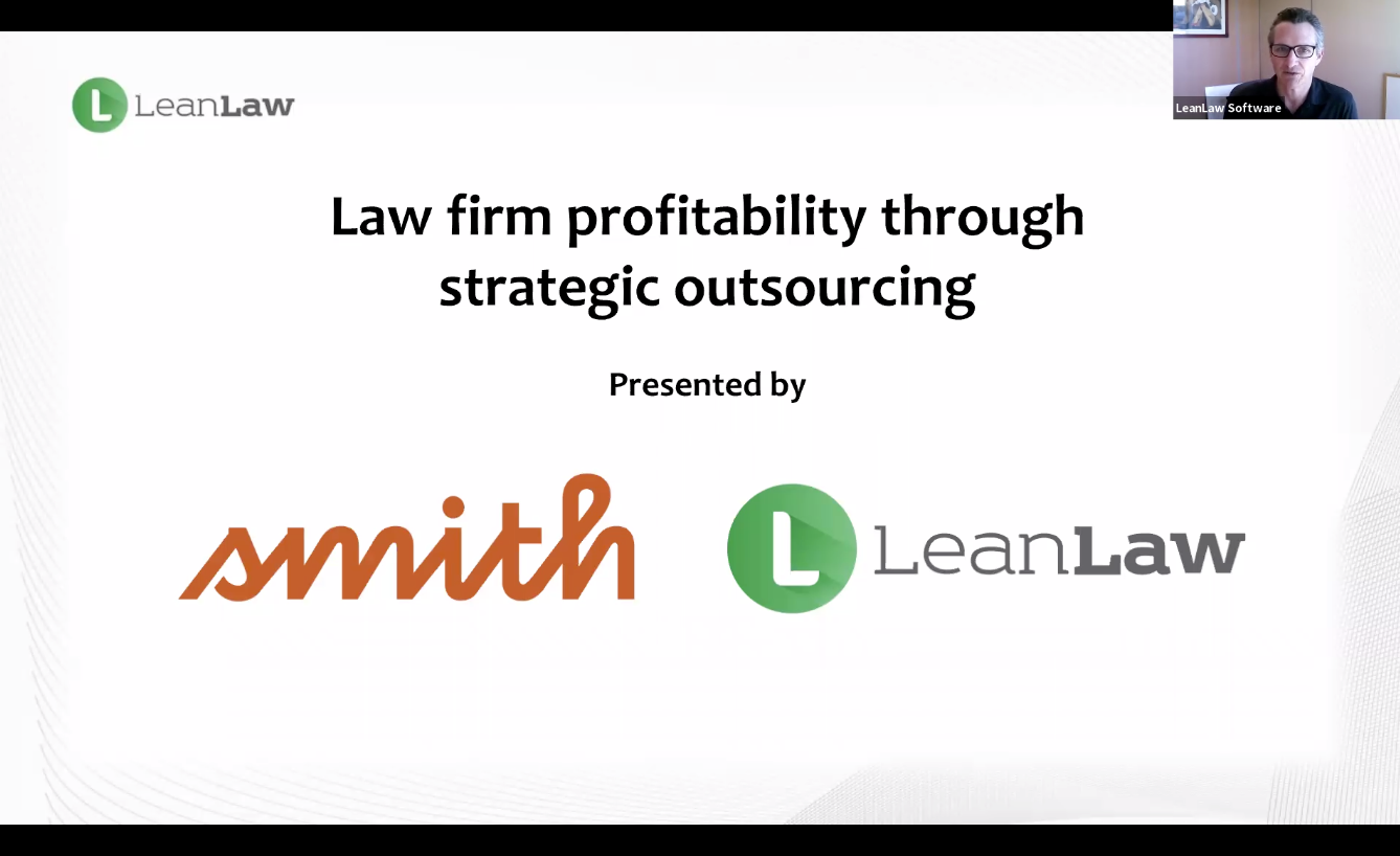 VIDEO: Smith.ai & LeanLaw Webinar: Law Firm Profitability Through Strategic Outsourcing