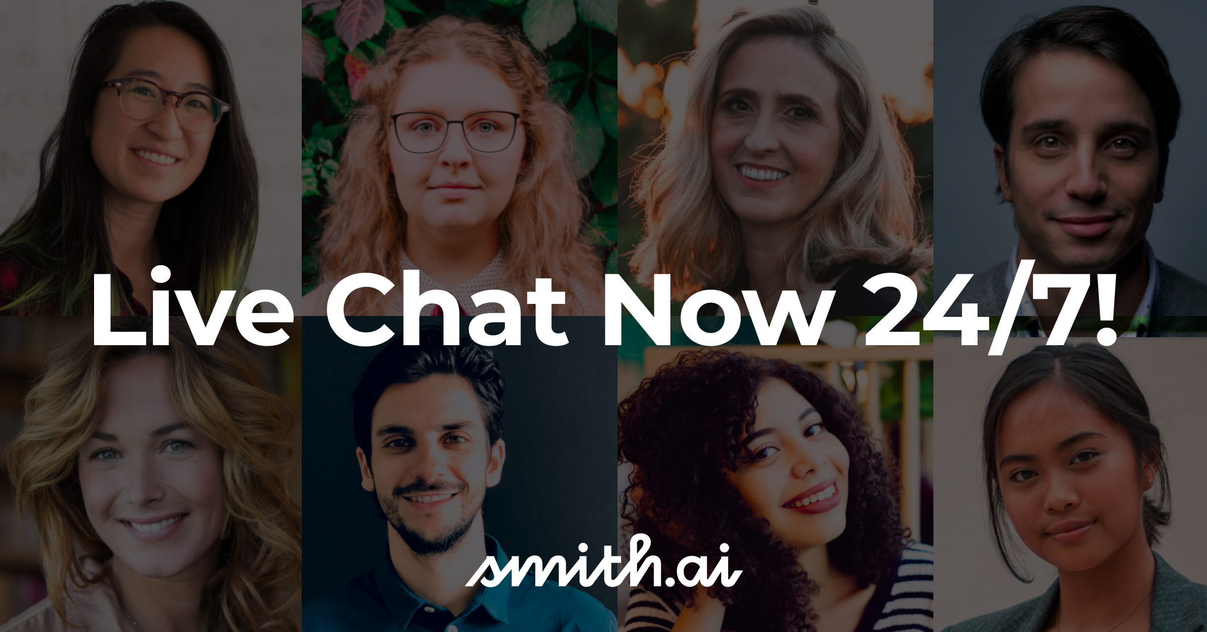 Smith.ai Live Chat Now Staffed 24/7!