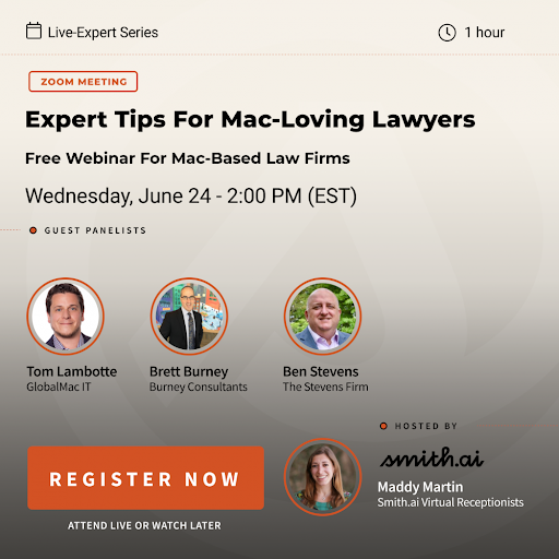 Webinar Recap & Resources: Expert Tips for Mac-Loving Lawyers: Resources