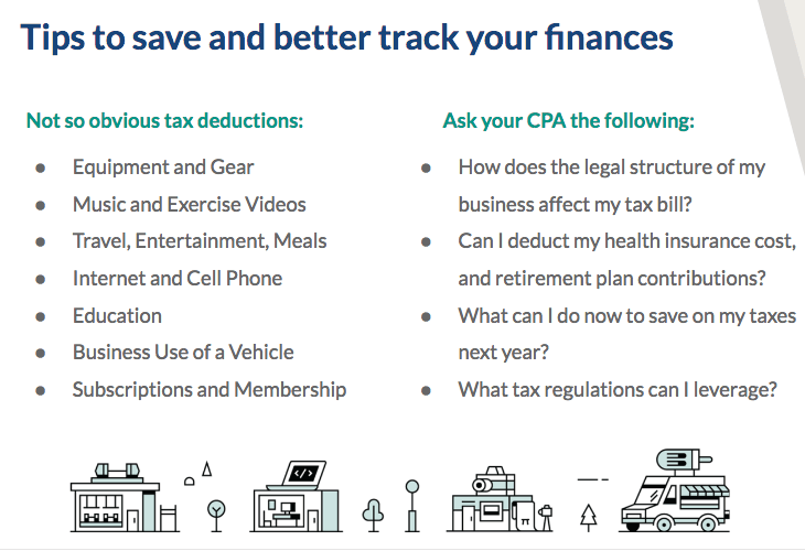 Tips for saving and tracking your finances