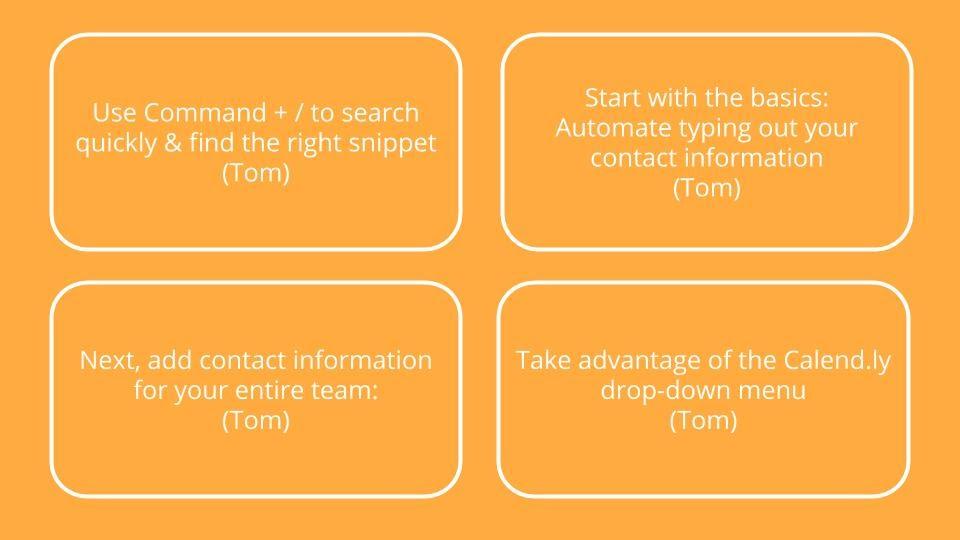 TextExpander quick tips