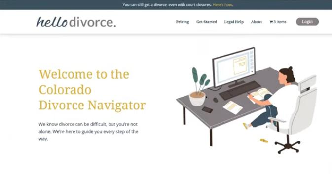 HelloDivorce Colorado Divorce Navigator