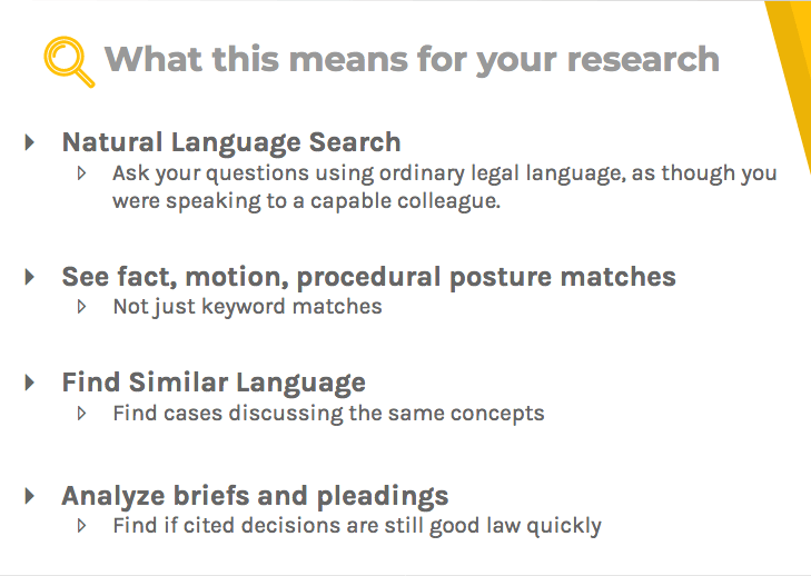 What AI can do for your legal research