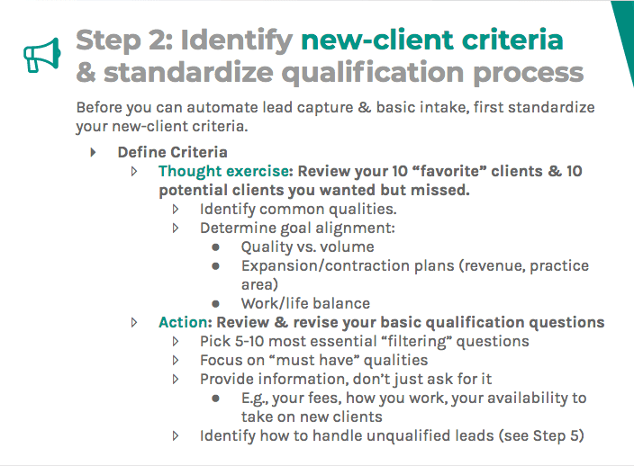 Identify new client cr