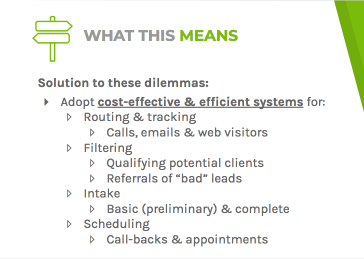 A solution to these dilemmas is to adopt cost-effective and efficient systems
