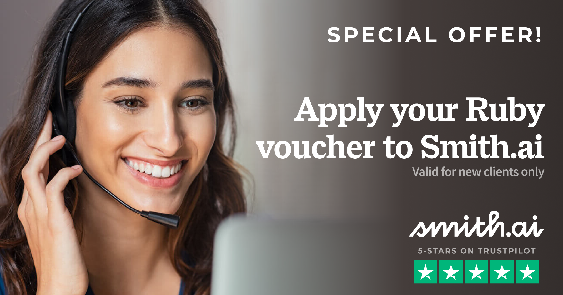 Special Offer: Smith.ai Will Match Your Voucher from the Ruby Receptionists Class Action Settlement