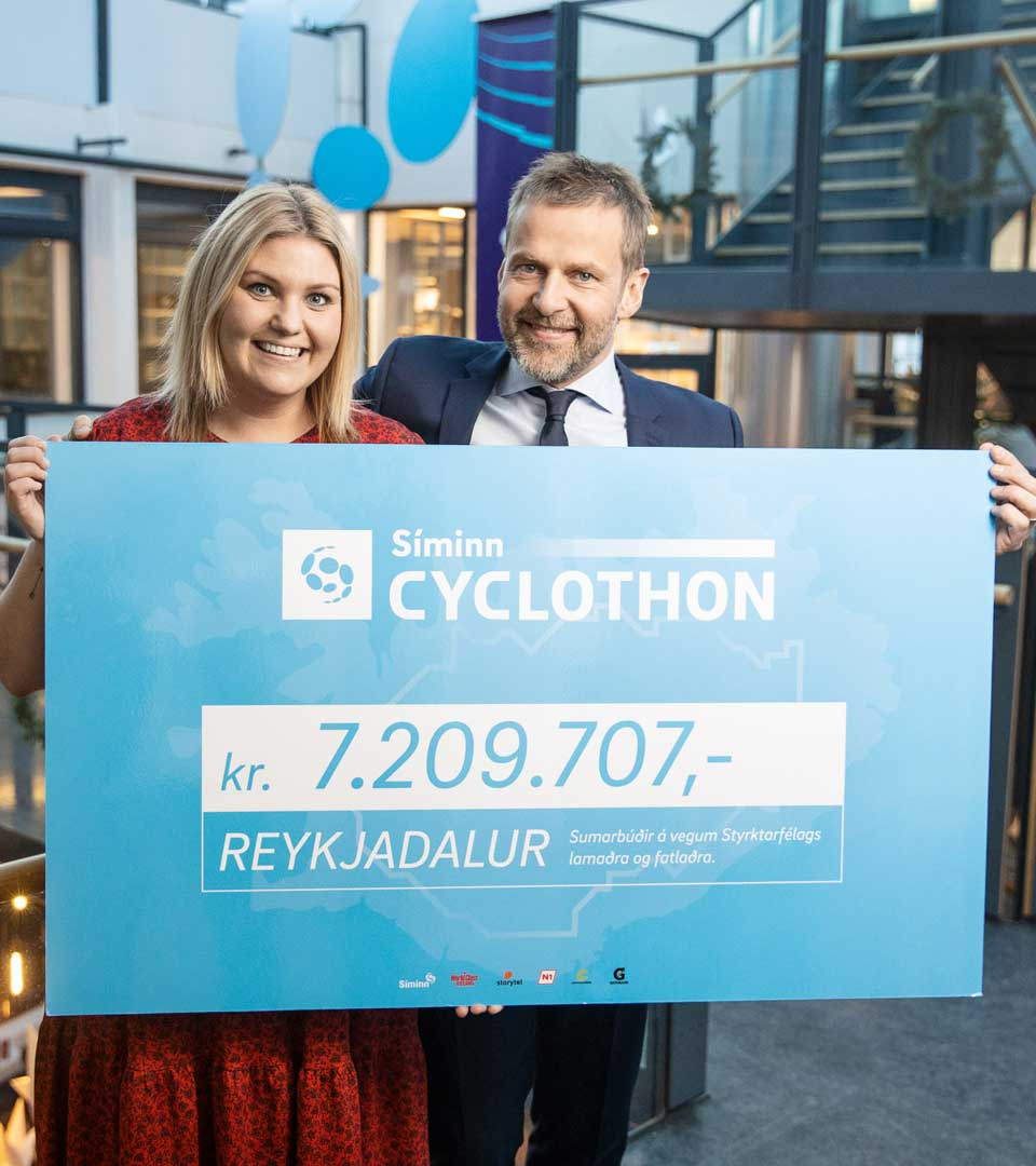 Síminn Cyclothon hjólar aftur af stað