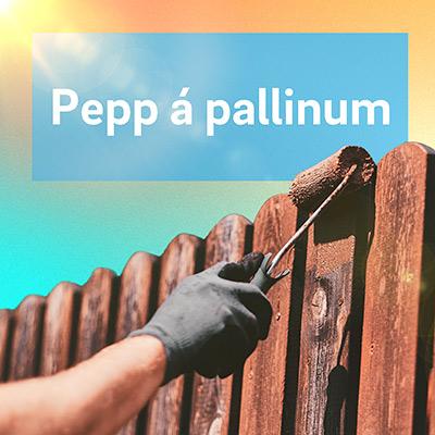 Pepp á pallinum