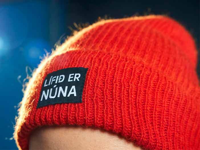 Lífið er núna