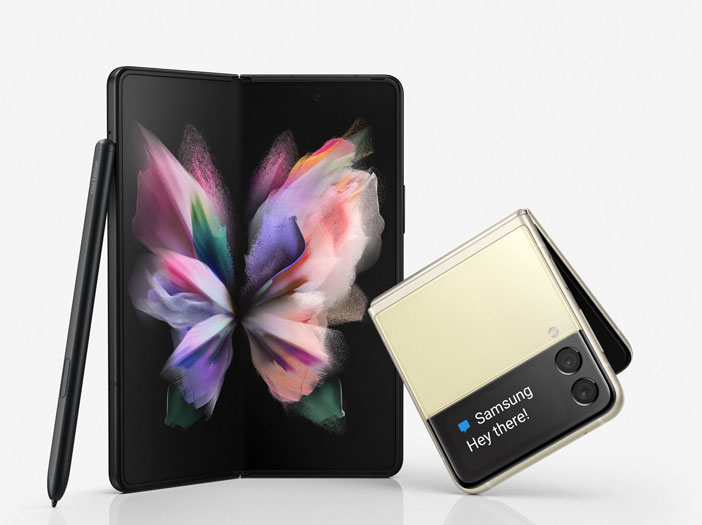 Hvað var Samsung að kynna á Samsung Unpacked?