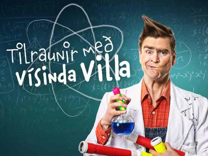 Tilraunir með Vísinda Villa