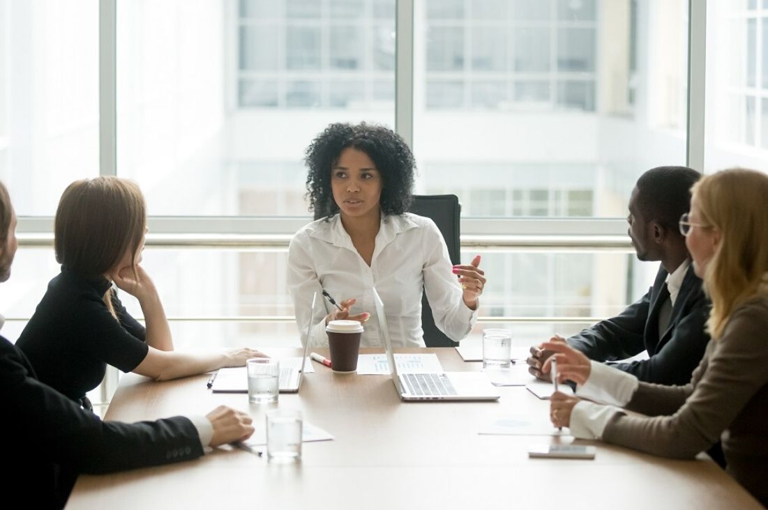 female entrepreneurs at a table