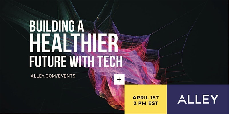 Building a Healthier Future with Technology Flyer