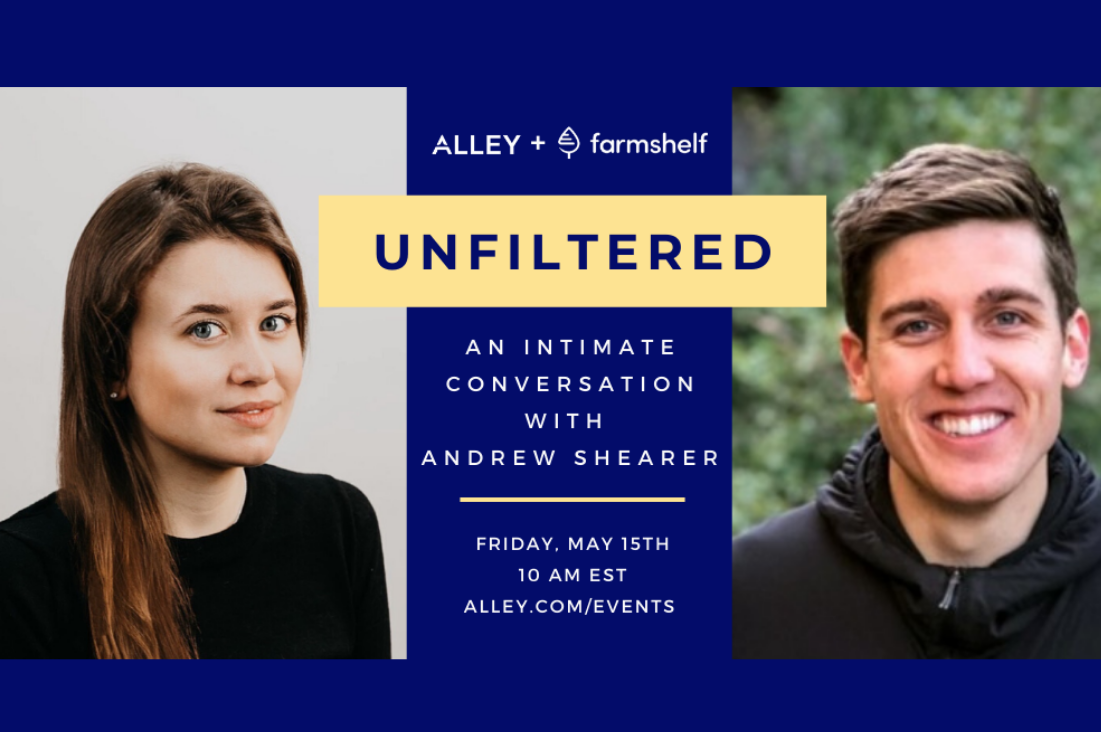 Event Recap: Unfiltered with Andrew Shearer, Founder and CEO of Farmshelf