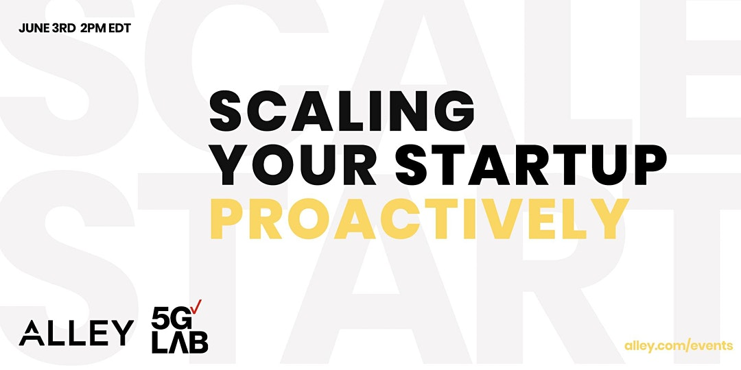 Take The Lead - Scaling Your Startup Proactively