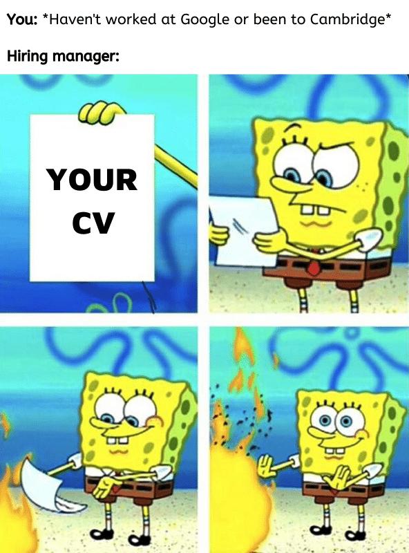 CV meme