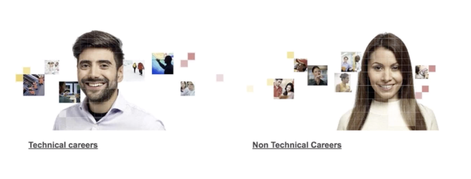 Gender bias for technical vs. non-technical careers