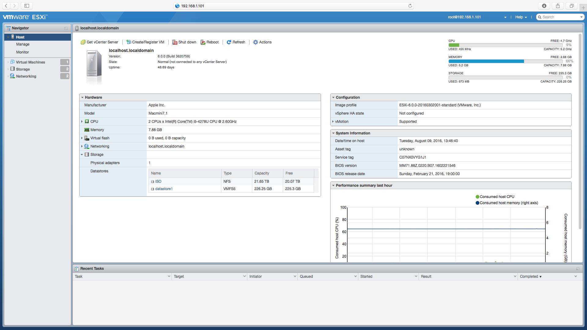 Enable SSH Screen 1