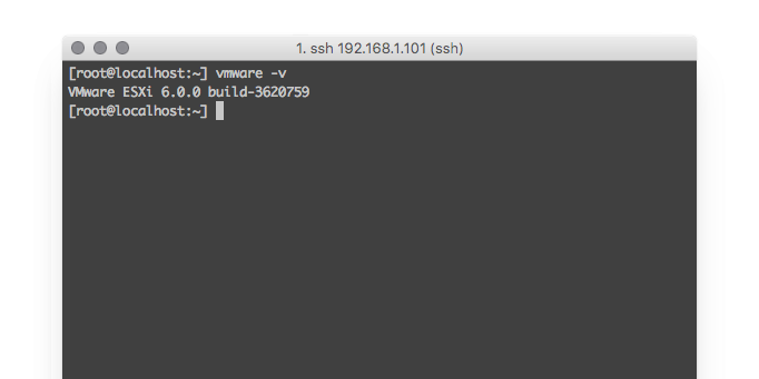 VMware Version