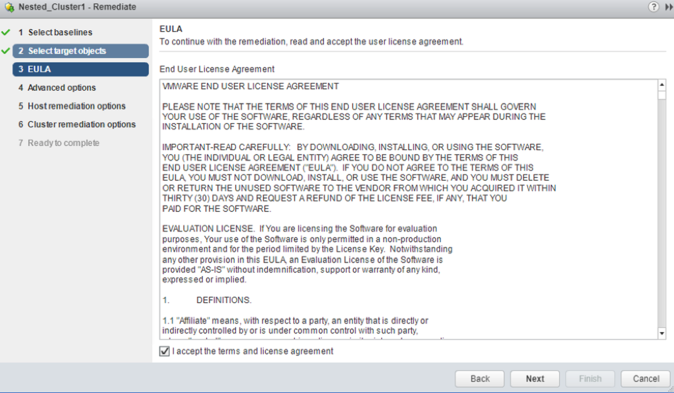 Accept the EULA