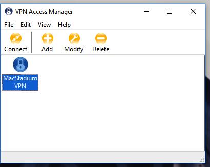 Select VPN