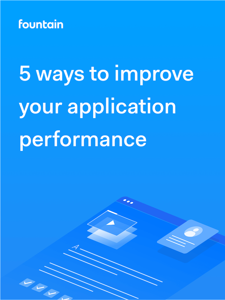 5 ways to improve your application performance