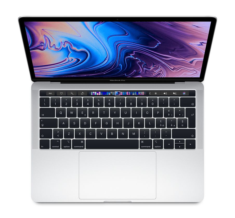 "Apple MacBook Pro 13"" Touch Bar i5 quad-core 2.3GHz / RAM 8Gb / SSD 256GB / Intel Iris Plus Graphic 655 - SIlver"