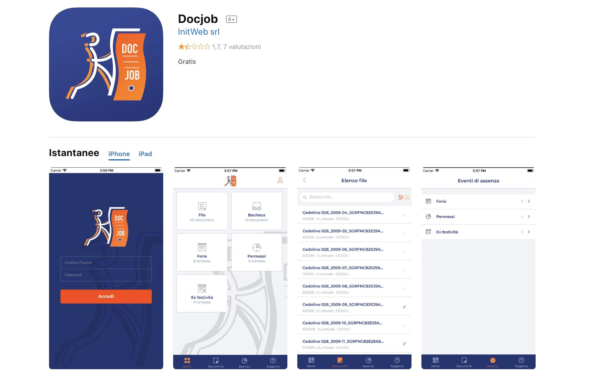 App DOcJob