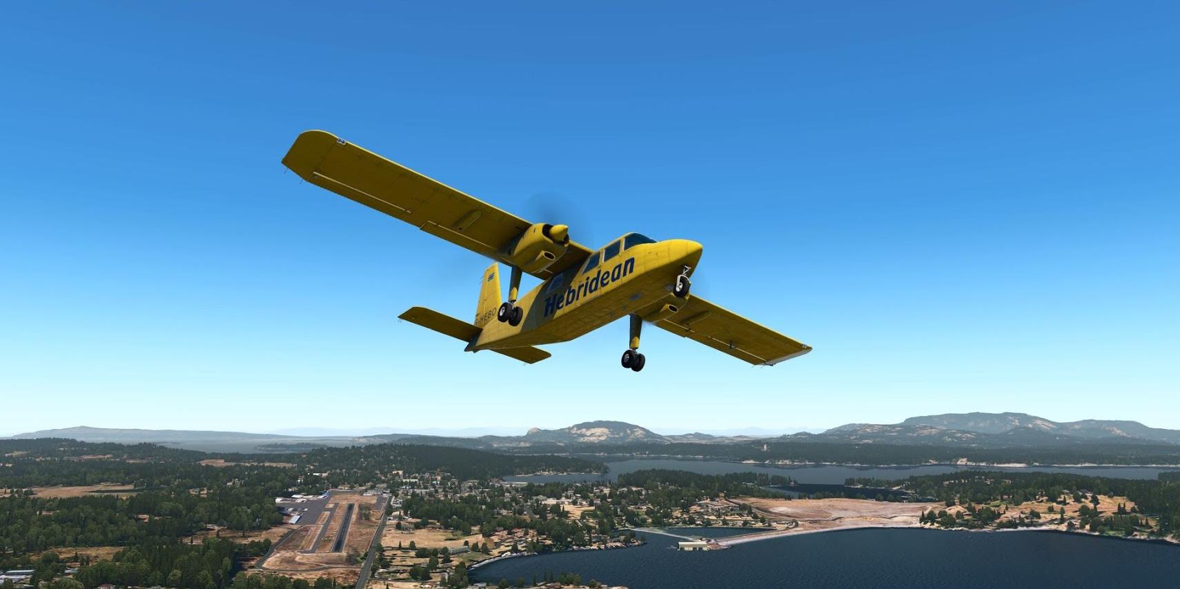 TorqueSim's BN-2 Islander is now available – Stormbirds