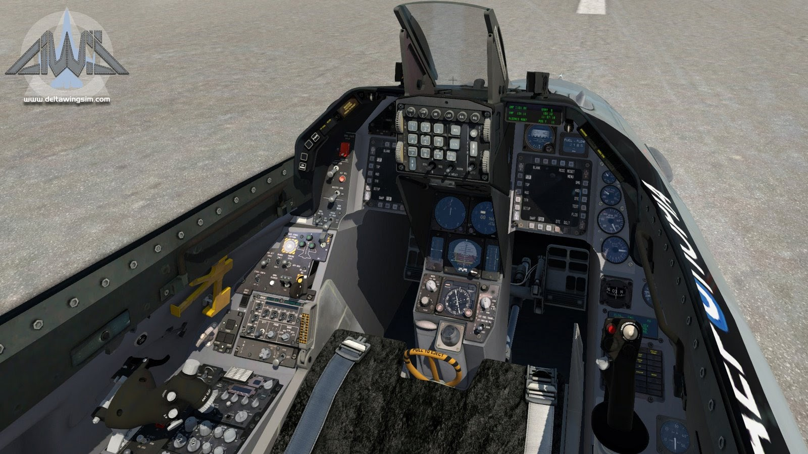 DeltaWing Simulations Releases F-16 for X-Plane - Threshold