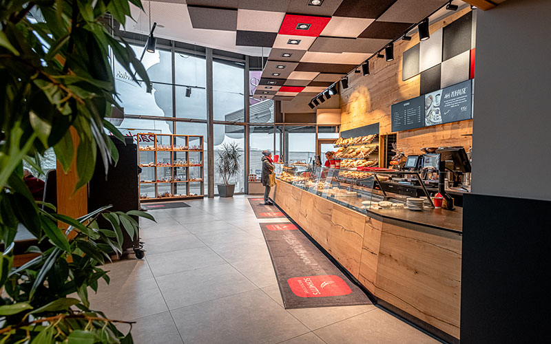 SCHMITTS Backstube Bäckeria – Bad Naustadt, Stammhaus und Bäckerei