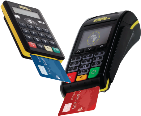 iKhokha Mover and Shaker card machines