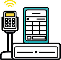 cash register pos icon