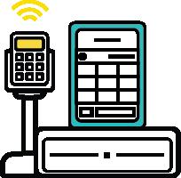 cash register pos icon