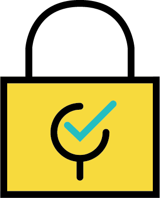 poster secure storage icon