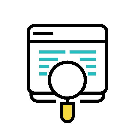 poster sales analysis icon