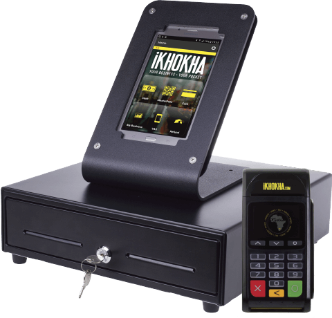 iKhokha Shaker Register Point of Sale bundle