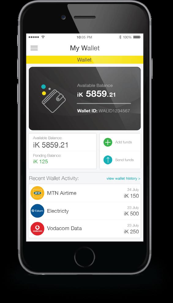 ikhokha prepaid vas app screen