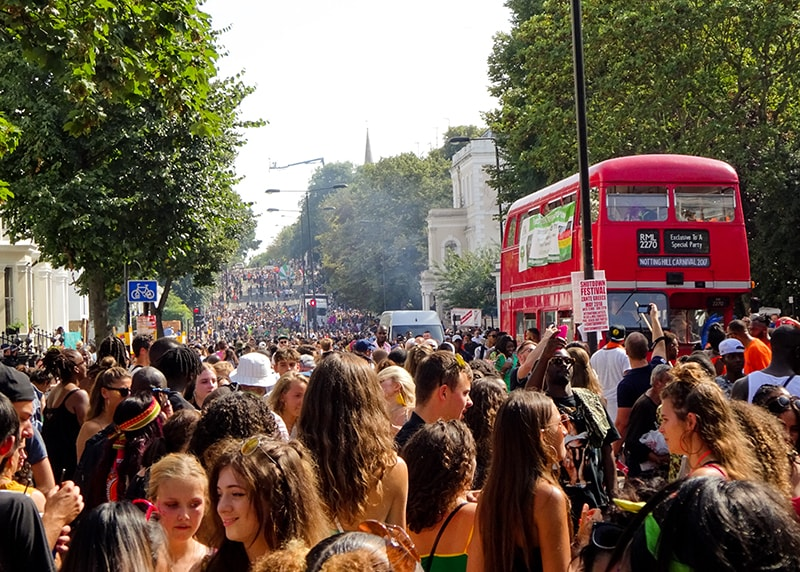 Movement Strategies provide crowd dynamics advice for Notting Hill Carnival